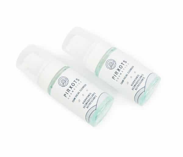limpiador facial espuma cremosa hidrata limpia